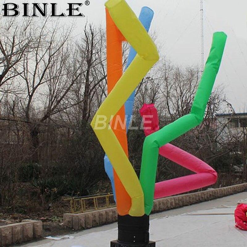 Articles promotionnels mini coloré gonflable ciel danseur drôle air danseur tube homme pour la publicité