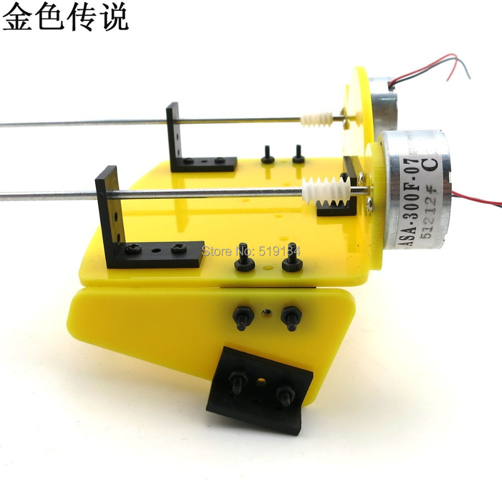 Diy Handmade Accessories Boat Ship Kit Electric Two Motor