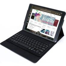 Wireless Keyboard Case For IPad Pro 9.7/10.5 with Auto Wake/Sleep, Ultra Slim Wireless Smart Stand Flip Folio Hard Case Cover недорого