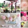 """15 pcs Mixed 6 """"8"""" 10 """"(15 cm 20 cm 25 cm) pompons de papel de seda bolas pom pom decoração Do Casamento do chuveiro de bebê decoração do partido suprimentos"""