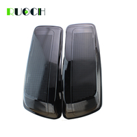 Motorcycle Saddlebag Dual 6*9 Speaker Lids W/ Speaker Grill for Harley Saddlebag Lid Covers Touring Road King Road Glide 14 19