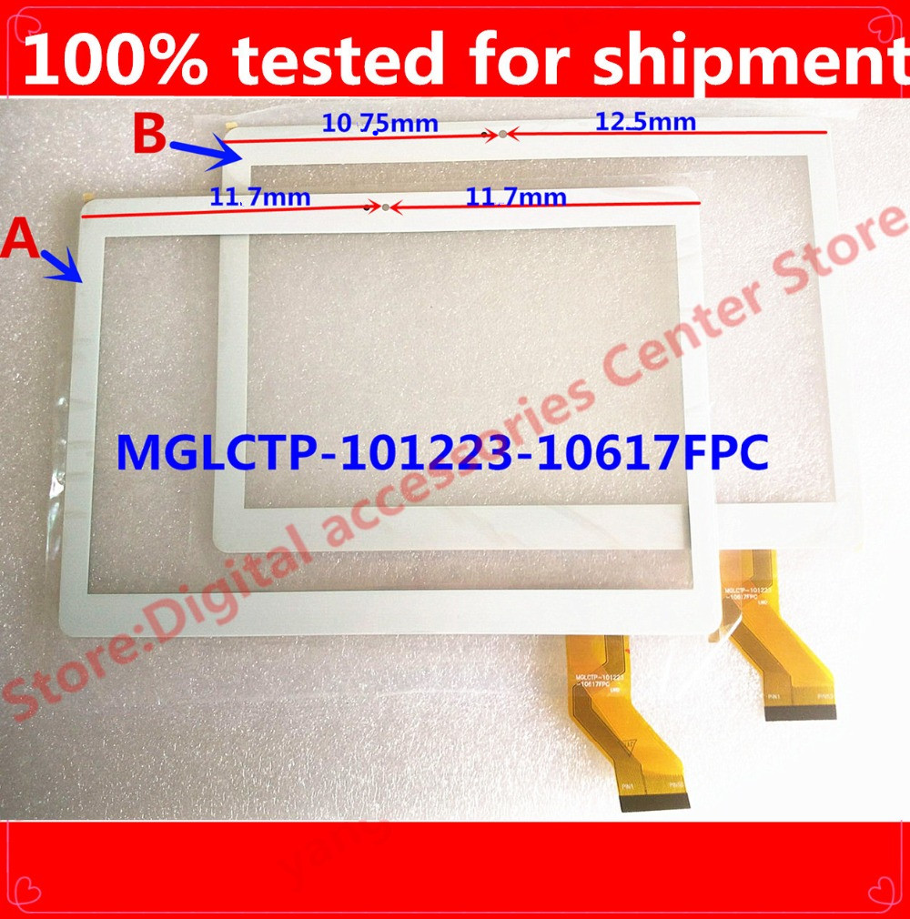 HZ NEW  10.1 -inch Tablet Touch Screen Display On The Outside  MGLCTP-101223-10617fpc