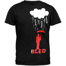 Cool Tee Shirts The Bled - Rai Crew Neck Men Short Sleeve Office Tee crew neck space dyed striped tee