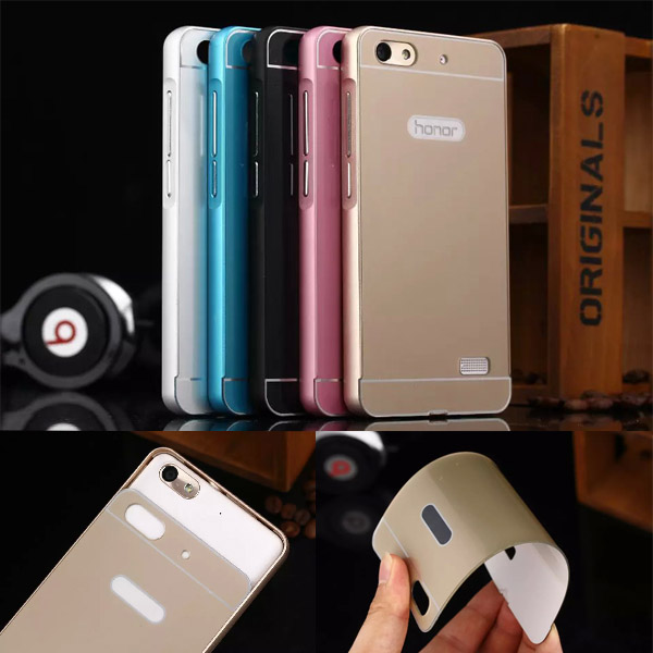 timeless design f9b6b 063a1 US $6.99 |Huawei Honor 4C Case Luxury Metal Aluminum PC acrylic Hard Back  Case Cover Detachable mobile Phone Case For Huawei Honor 4C on ...