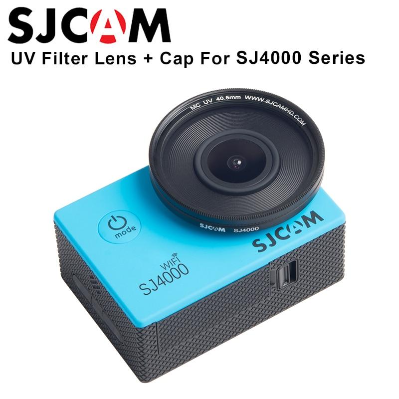 Sjcam Accesorios sj4000 serie filtro UV 40.5mm multi-coated lente para sj4000 sj4000wifi Action Sports Cámara