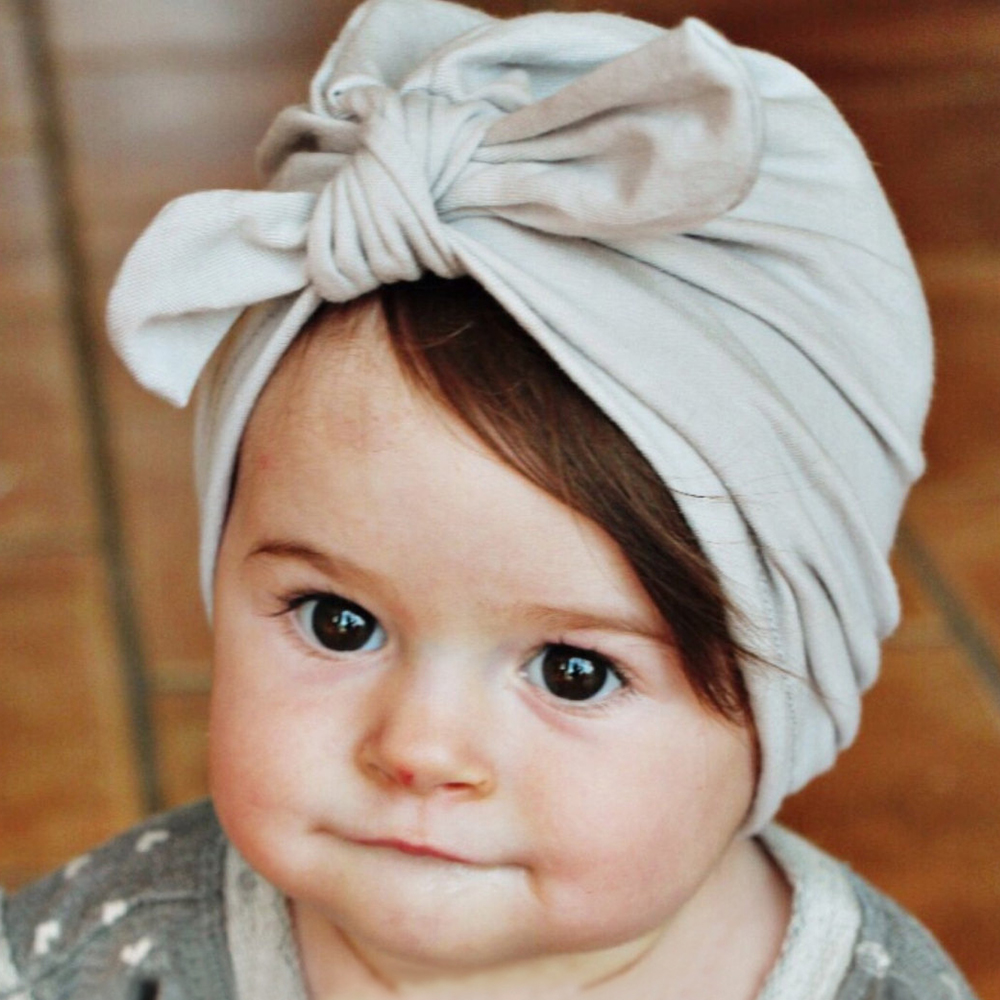 Detail Feedback Questions about Fashion Baby Girl Hat with Bow Cotton  Newborn Bebes Beanie Candy Color Infant Baby Beanie Caps Girls Boys Hair  accessories ... b8f3a130db82