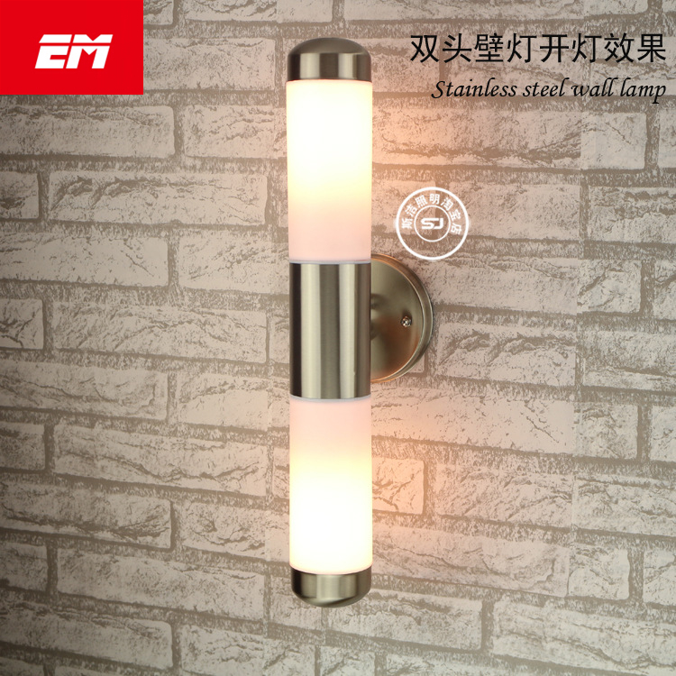 Outdoor Lighting Stainless Steel E27 LED Wall Light IP65 Wall Lamp Porch Lights AC90-230V Up Down Wall Lamp Waterproof Indoor modern outdoor lighting led waterproof wall lamp patio lamp ip65 outdoor led lamp up down light outdoor wall light porch lights