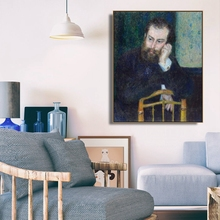 Renoir Portrait by Renoir Wall  Art Poster Print Canvas Painting Calligraphy  Decorative Picture for Living Room Home Decor