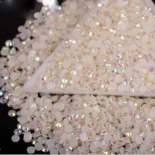 2mm Nail Art jewelry Rhinestones On Nails Strass 3D Nail Art Decorations Glitter Rhinestones for Nails Crystal Manicure ZJ1204(China)