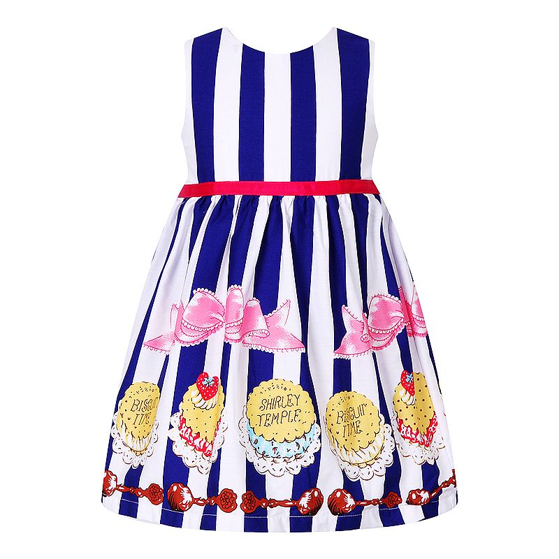Baby Girls Summer Dress Vestidos 2018 Brand Children Princess Costume for Kids Clothes Toddler Dresses Girl Clothing summer seaside girls dresses children korean style clothing big girl casual striped costume kids cotton clothes junior vestidos