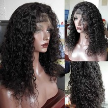 Best 8A Brazilian Full Lace Human Hair Wigs for Black Women Glueless Full Lace Wigs Virgin Hair Curly Lace Front Human Hair Wigs