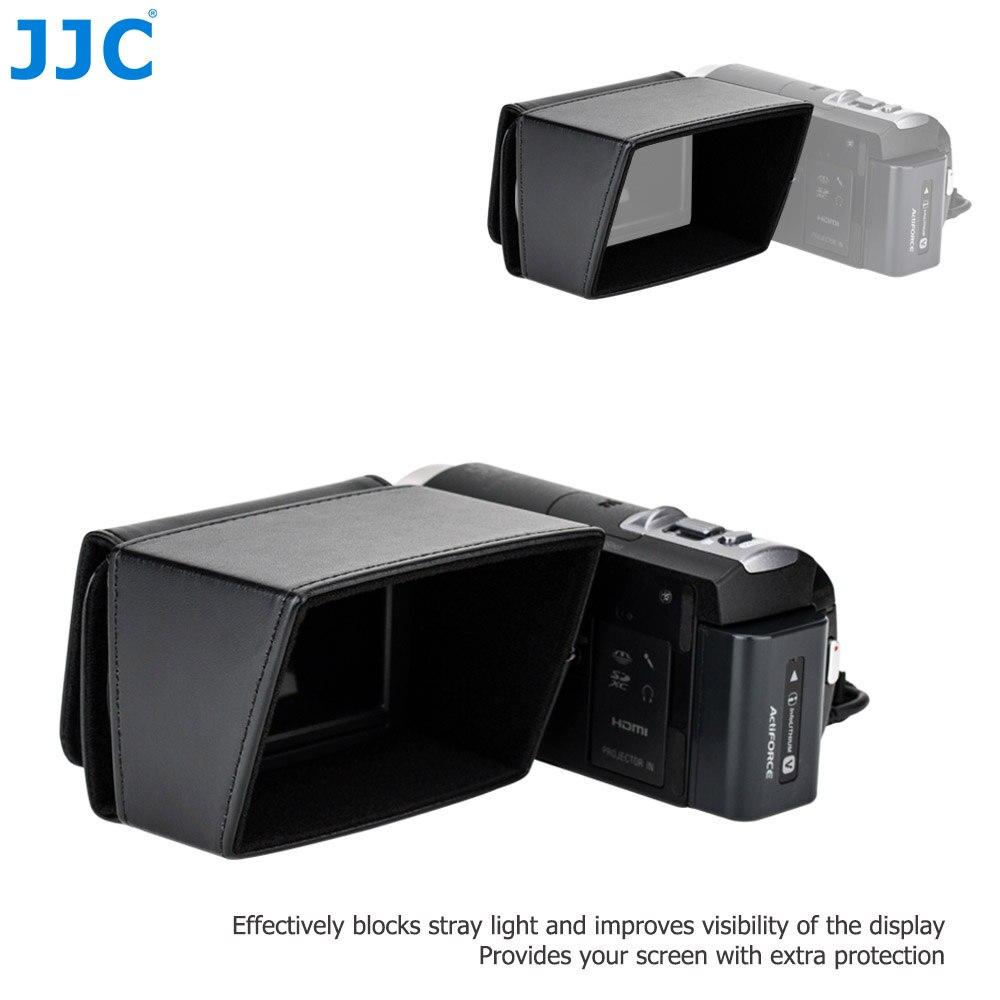 "3.5/""LCD protector de pantalla de Sol campana para Canon VIXIA Videocámara digital video cámara de vídeo digital"
