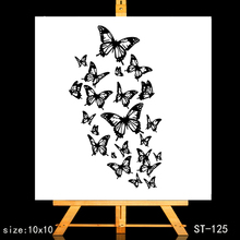 ZhuoAng Dancing butterfly Clear Stamps/Card Making Holiday decorations For  scrapbooking Transparent stamps
