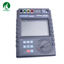 ETCR3000B Earth Resistance Soil Resistivity Tester Earth Voltage AC Voltage Tester Promoted