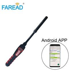 125Khz 134.2khz USB Bluetooth RFID waterproof microchip glass transponder chip handheld stick reader for fish, arowana,dog, pet