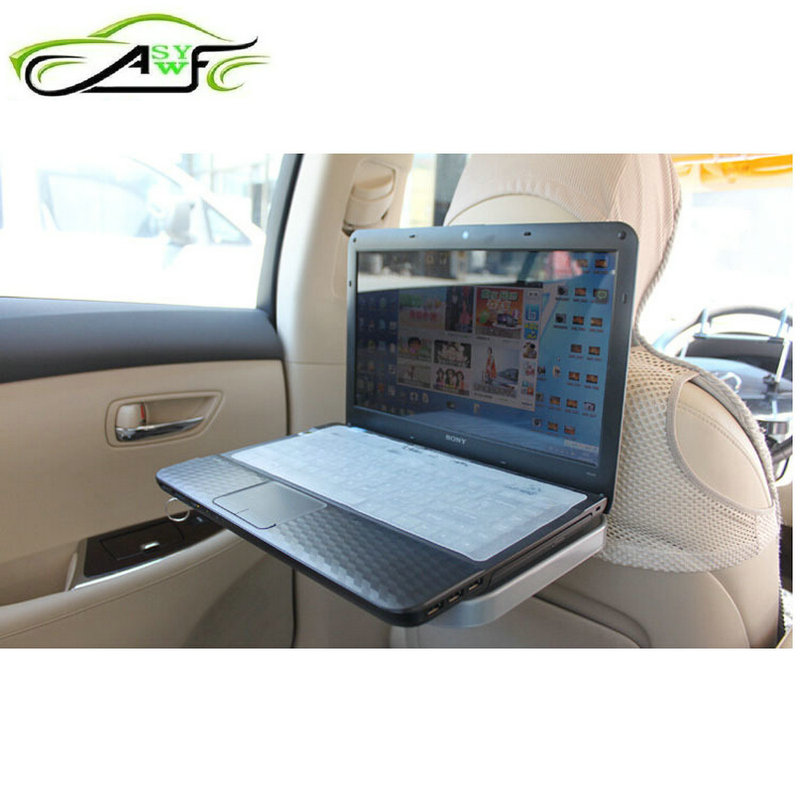 Best Selling Multi-Functional Car Tray Mount Food table laptop Tablet Rear Seat Beverage Rack