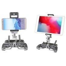 Support de support de tablette de téléphone télécommandé socle en aluminium pour dji mavic 2 pro zoom/pro 1/air/étincelle/mini drone mavic