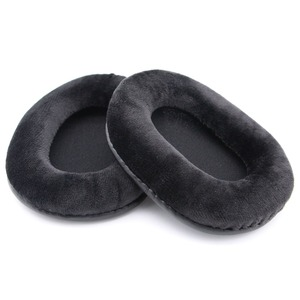 Image 5 - Velour Ear Pads Earpads Cushion For Audio Technica ATH M50 M50X M40 M40X M30 M35 SX1 M50S Dj Headphones