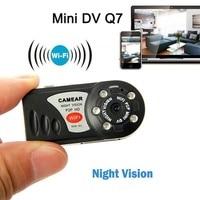 32GB Q7 Mini Camera P2P WiFi Micro DV Security IP Wireless Remote Camera Video Recorder Digital Camera DVR Surveillance Cameras