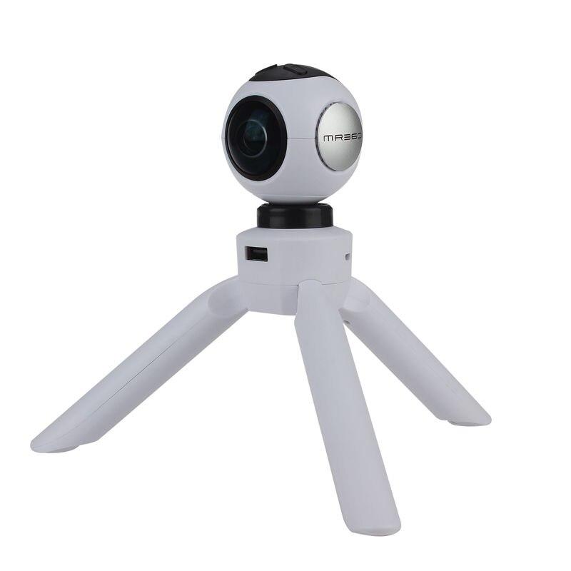 BOBLOV MR360 220 360 degree Wifi 4K 24fps Sports Action Panoramic Camera Tripod Power Supply Free