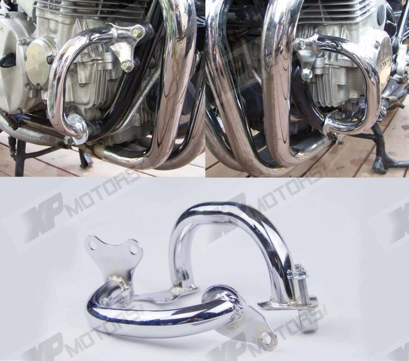 Хром Двигатель мотоцикла гвардии краш-баров для Honda CB750 RC42 1992 1993 1994 1995 1996 1997 1998 1999 2000 2001 2002 2003