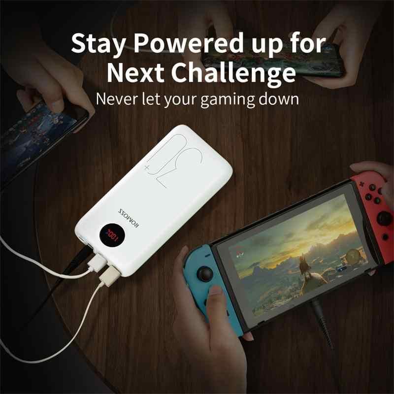 30000mAh 26800mAh ROMOSS SW30 Pro chargeur de batterie externe Portable batterie externe PD affichage de LED de charge rapide pour téléphones tablette