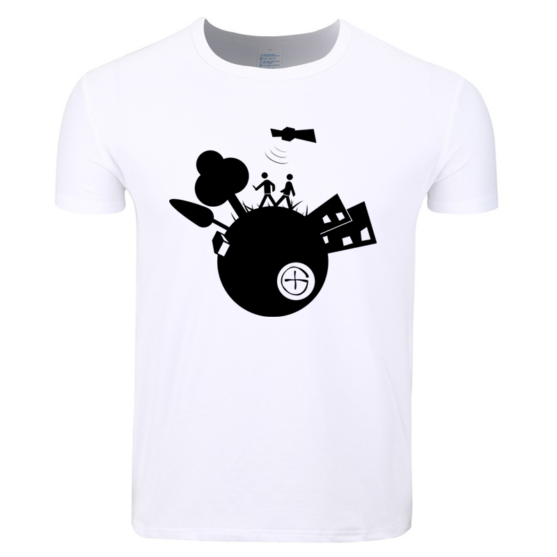 Asian Size Men And Women Print Geocaching T-shirt O-Neck Short Sleeve Summer Casual T-shirt HCP4396