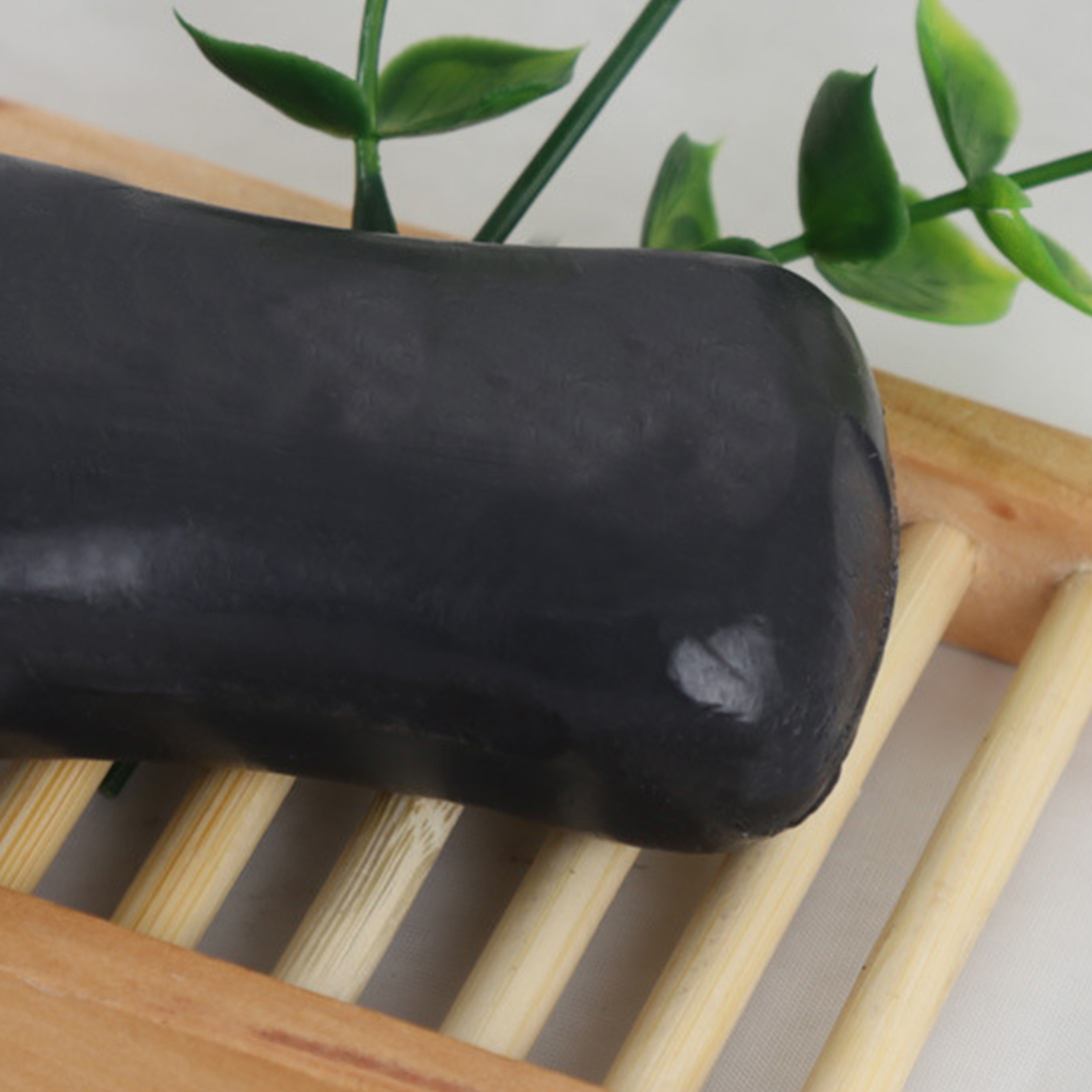 High Quality  Natural Bamboo Making Black Soap Active Skin Bleaching Soap Healthy Care
