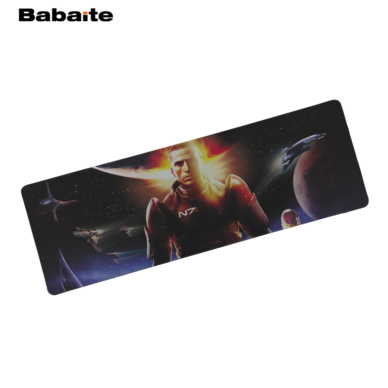 Babaite For Mass Effect Speed Gaming Edition Mouse Pad 900 * 300mm XL Edge of Locking Mouse Pad for Laptop gaming mouse pad