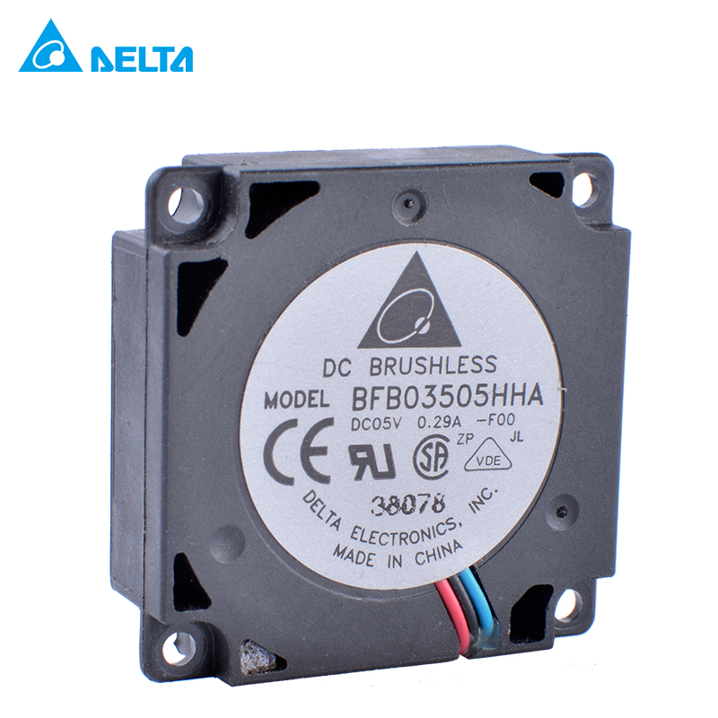Original Delta BFB03505HHA 3.5cm 35mm Fan 3510 DC5V 0.29A Small Side Blower Centrifugal Turbine Blower Notebook Cooling Fan