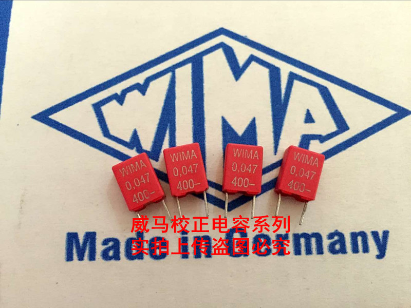 2019 Hot Sale 10pcs/20pcs Germany WIMA Capacitor MKS2 400V 0.047UF 400V 473 47NF P: 5mm Audio Capacitor Free Shipping