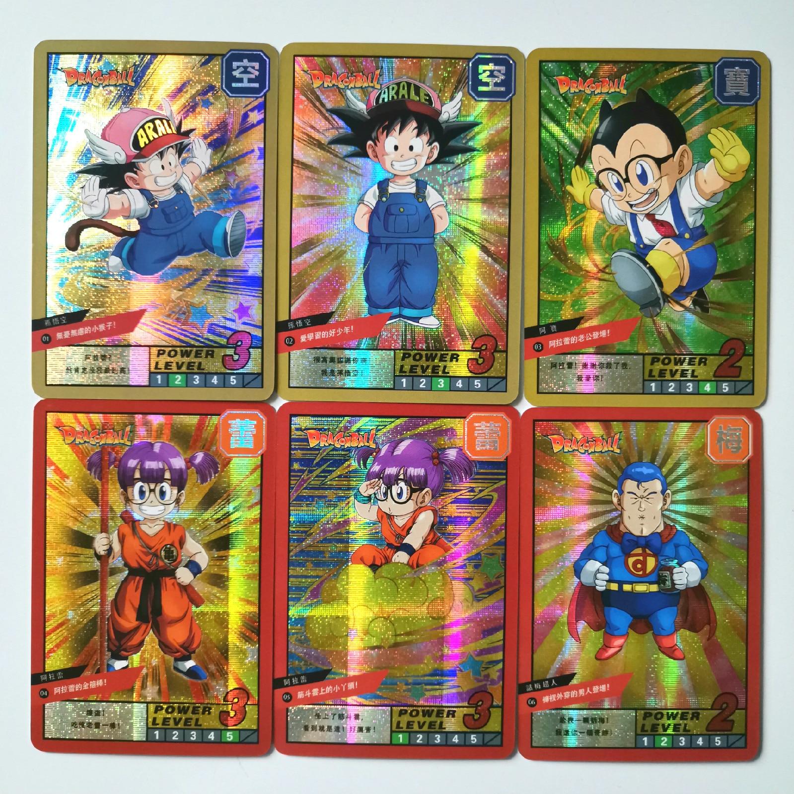 18pcs Super Dragon Ball Z Burst Fourth Bomb Burst Heroes Battle Card Ultra Goku Game Collection Cards