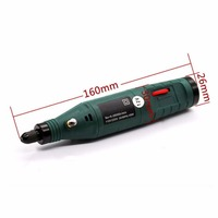 1pc Mini Electric Engraving Pen Adjustable Variable Speed Portable Hand Drill Grinding Rotary Tool Mayitr Power