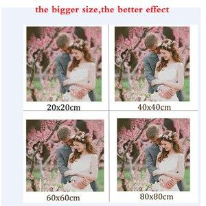 Image 2 - Diy 5 יח\סט פסיפס מלא יהלומי רקמת פיל חיות יהלומי ציור צלב תפר כיכר תרגיל רב תמונות XSH