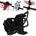 Universal Motorcycle Bike Handlebar Cradle Clamp Silicone Band Phone Holder Fashion Accessories