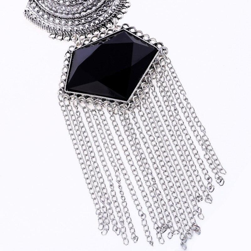 LOVBEAFAS Mode Multi Layer Maxi Halsband Fin smycken Uttalande - Märkessmycken - Foto 5
