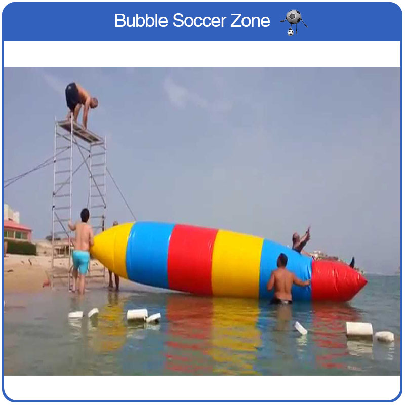 Free Shipping 7x3m 0.9mm PVC Inflatable Jumping Pillow Water Trampoline Water Blob Jump Inflatable Water Air Bag Free a Pump free shipping 6 2m 0 9mm pvc inflatable trampoline water pillo water blob jump inflatable jumping jump bed on water