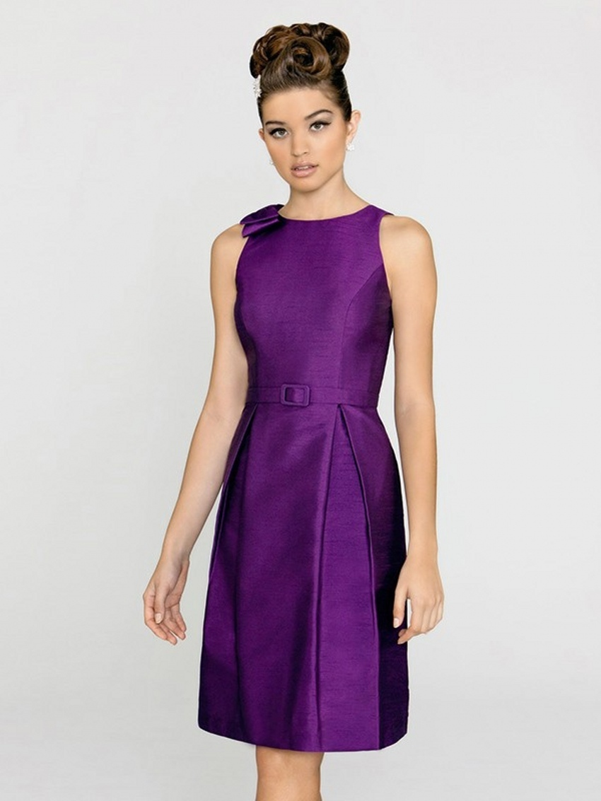 Online Get Cheap Eggplant Bridesmaid Dresses Aliexpress