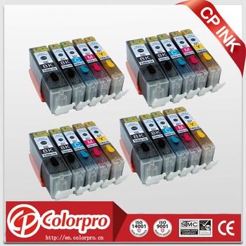 Wholesale 20PK PGI520 CLI521 Edible Ink Cartridge for Canon Pixma IP3600 IP4600 IP4700 MP540 MP550 MP560 MP620 MP630 MP640 MP980