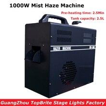 1000 Вт туман, дымка машина 2.5L Ёмкость бака для дым-машины с DMX512 Управление DJ/вечерние/КТВ/дискотека светодиодные этап туманообразователь