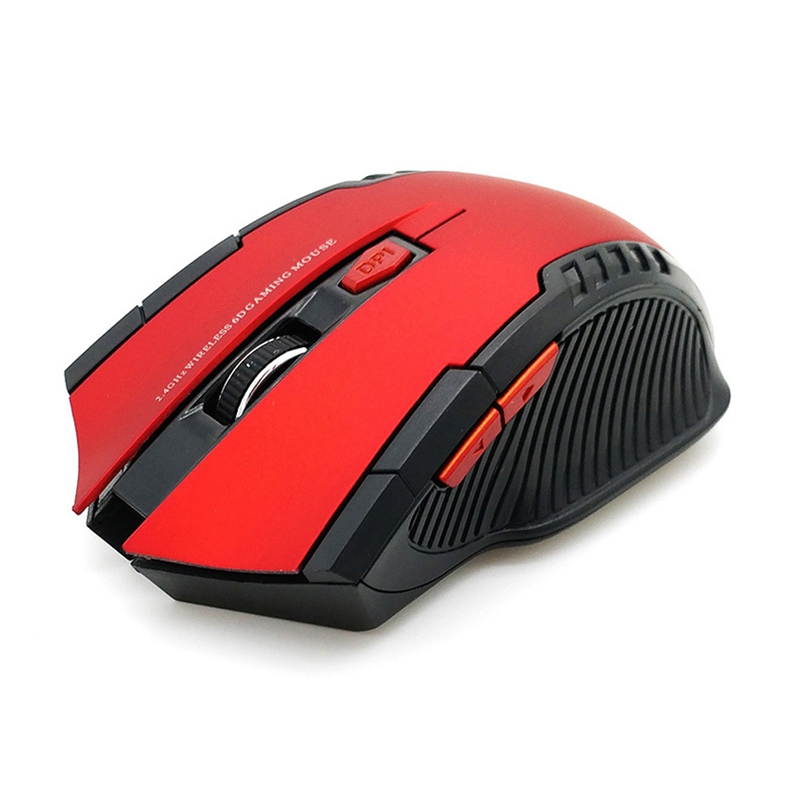 2.4Ghz Wireless Mouse With Usb Receiver For Pc Gaming Optical Mouse Without Battery