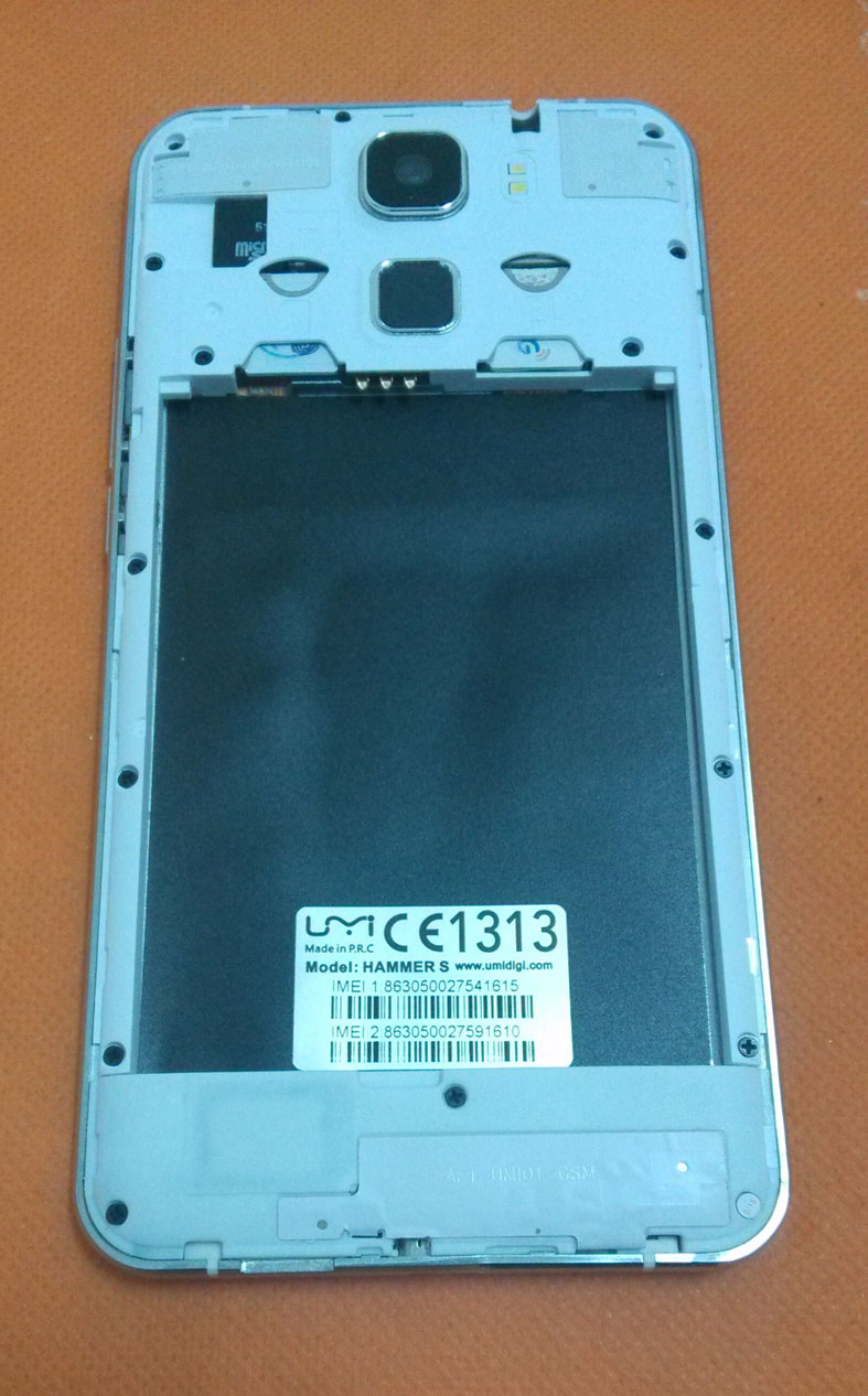 Original Front Camera 2.0MP Module For UMI HAMMER S 4G LTE MTK6735 Quad Core 5.5 HD 1280x720 Free shipping