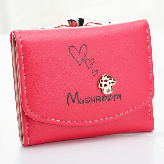 Buy mushroom wallets for women and get free shipping on AliExpress.com 84a46b703e2ad