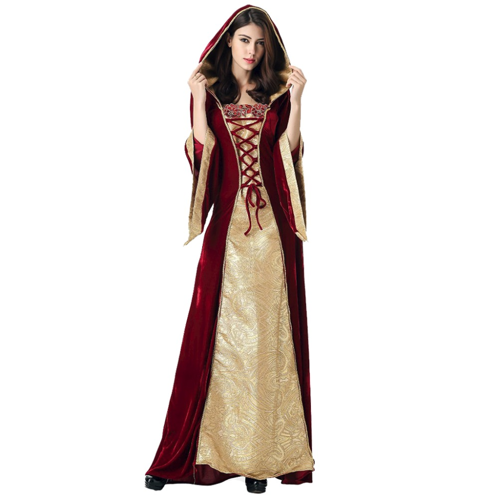 buy medieval dress robe women renaissance dress princess queen costume velvet. Black Bedroom Furniture Sets. Home Design Ideas