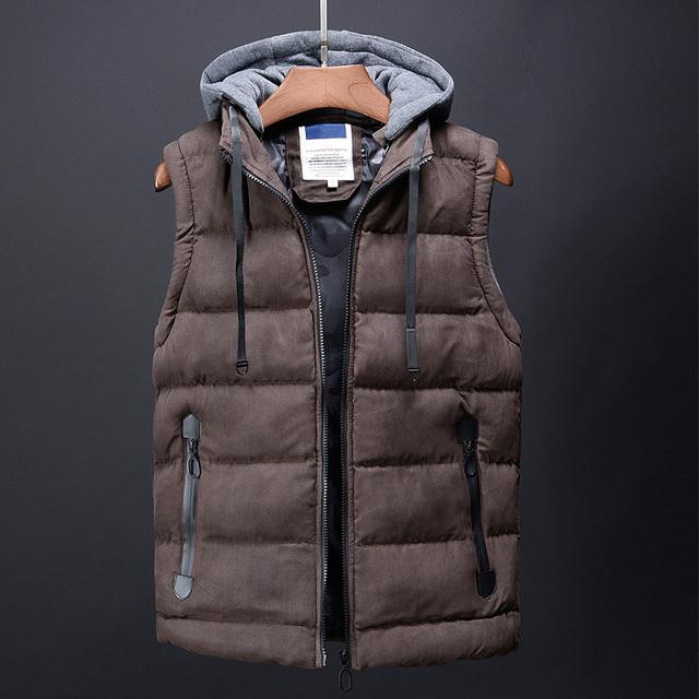 fashion winter warm vest male designer brand mens clothing korean streetwear hip hop city casual dress coats down jacket for men