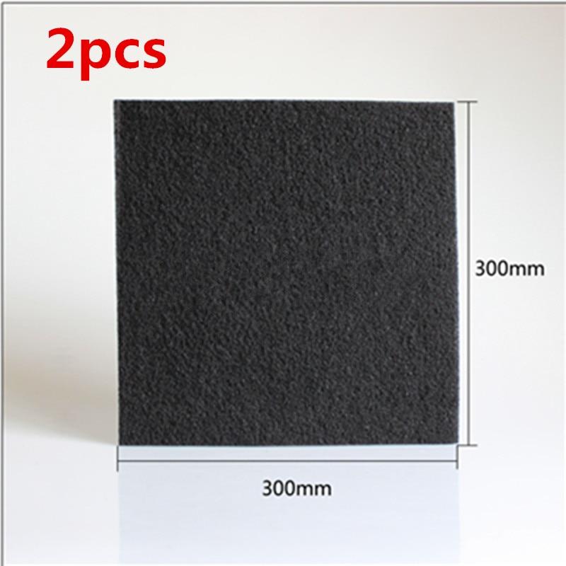 2pcs DIY Universal Air Purifier Activated carbon filter cotton 300*300*4mm Air Purifier Parts diy air purifier diy hepa activated carbon filter suitable for xiaomi air purifier filter