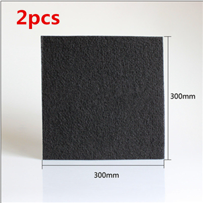 2pcs DIY Universal Air Purifier Activated carbon filter cotton 300*300*4mm Air Purifier Parts