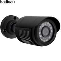 GADINAN AHDH Camera 1080P 24pcs IR Leds 2MP Camera 3 6mm 1080P Lens Full HD Security