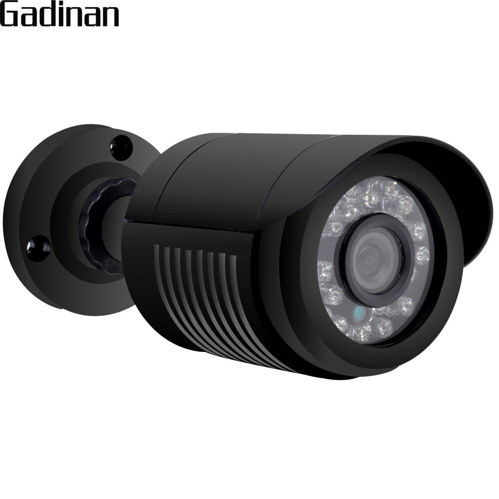 GADINAN AHDH Camera 1080P 24pcs IR Leds 2MP Camera 3.6mm 1080P Lens Full HD Security CCTV Cam Waterproof Outdoor ABS Plastic