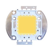 1pcs 10W 20W 30W 50W 100W White Full Spectrum 385~730nm 1800LM- 9000LM 9-12V 900mA-1050mA SMD LED Part For Plant Grow Light